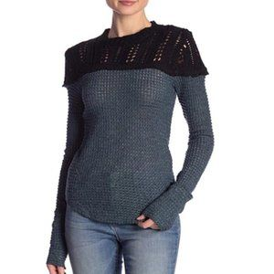 Free People Snowflake Sweater. M